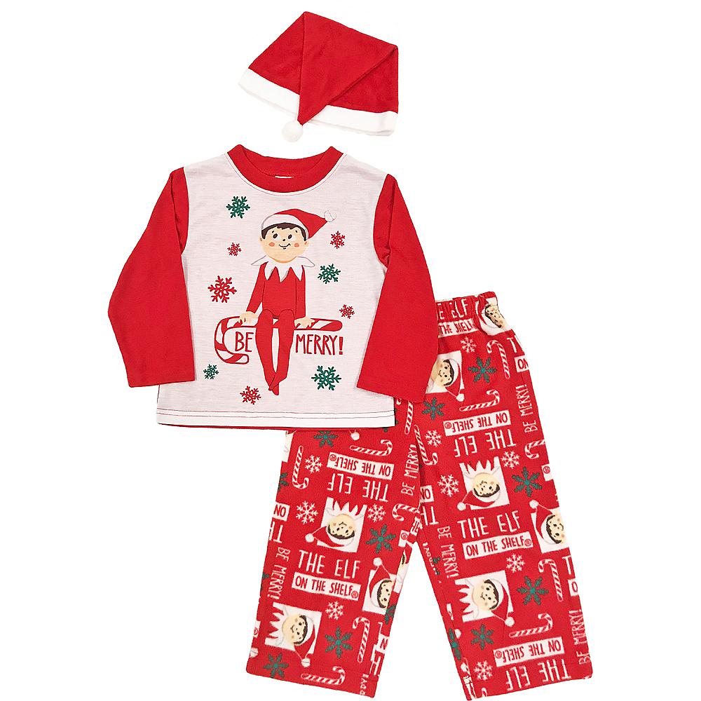 Toddler Elf on the Shelf Pajamas Image #1