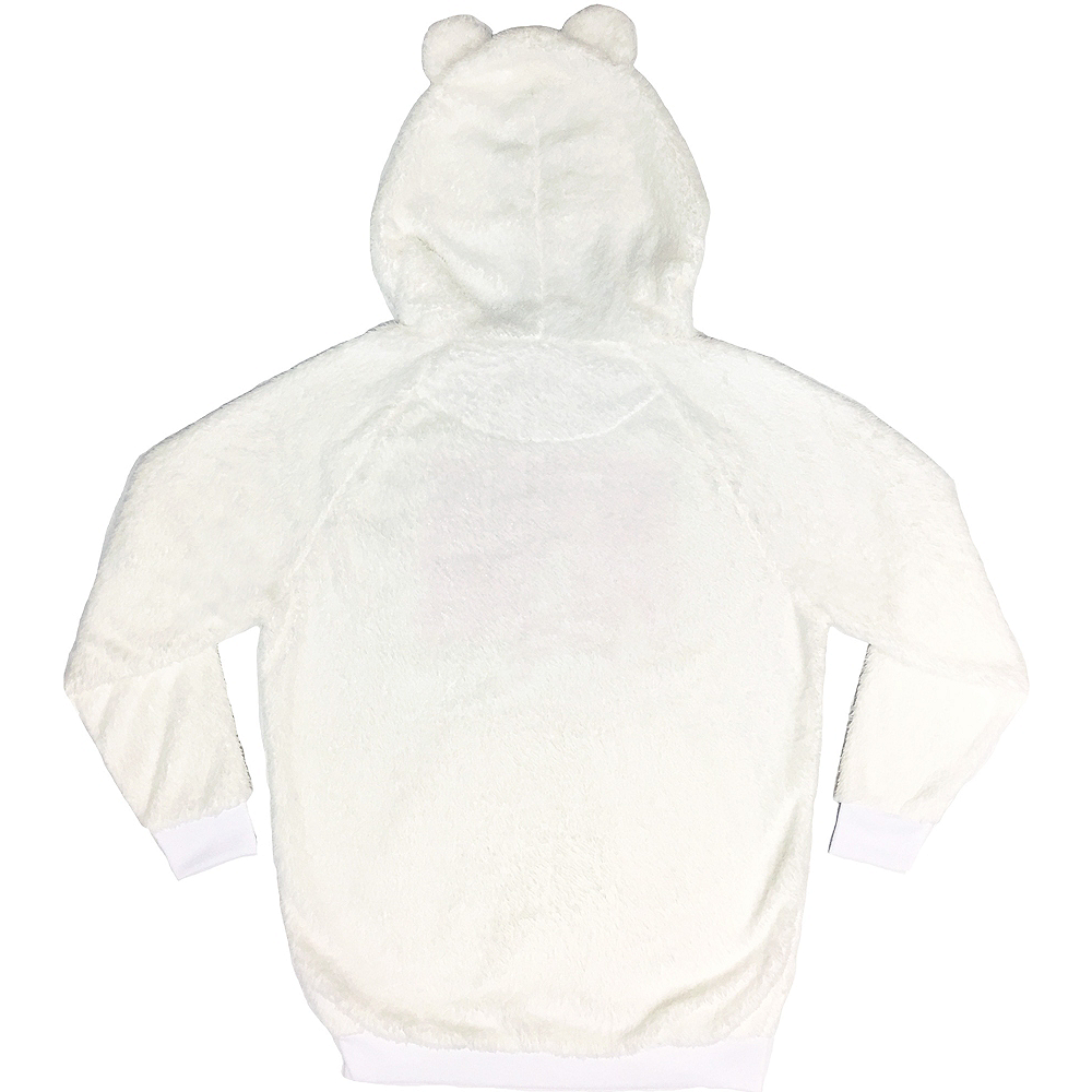 Nav Item for Fuzzy Polar Bear Hoodie Image #2