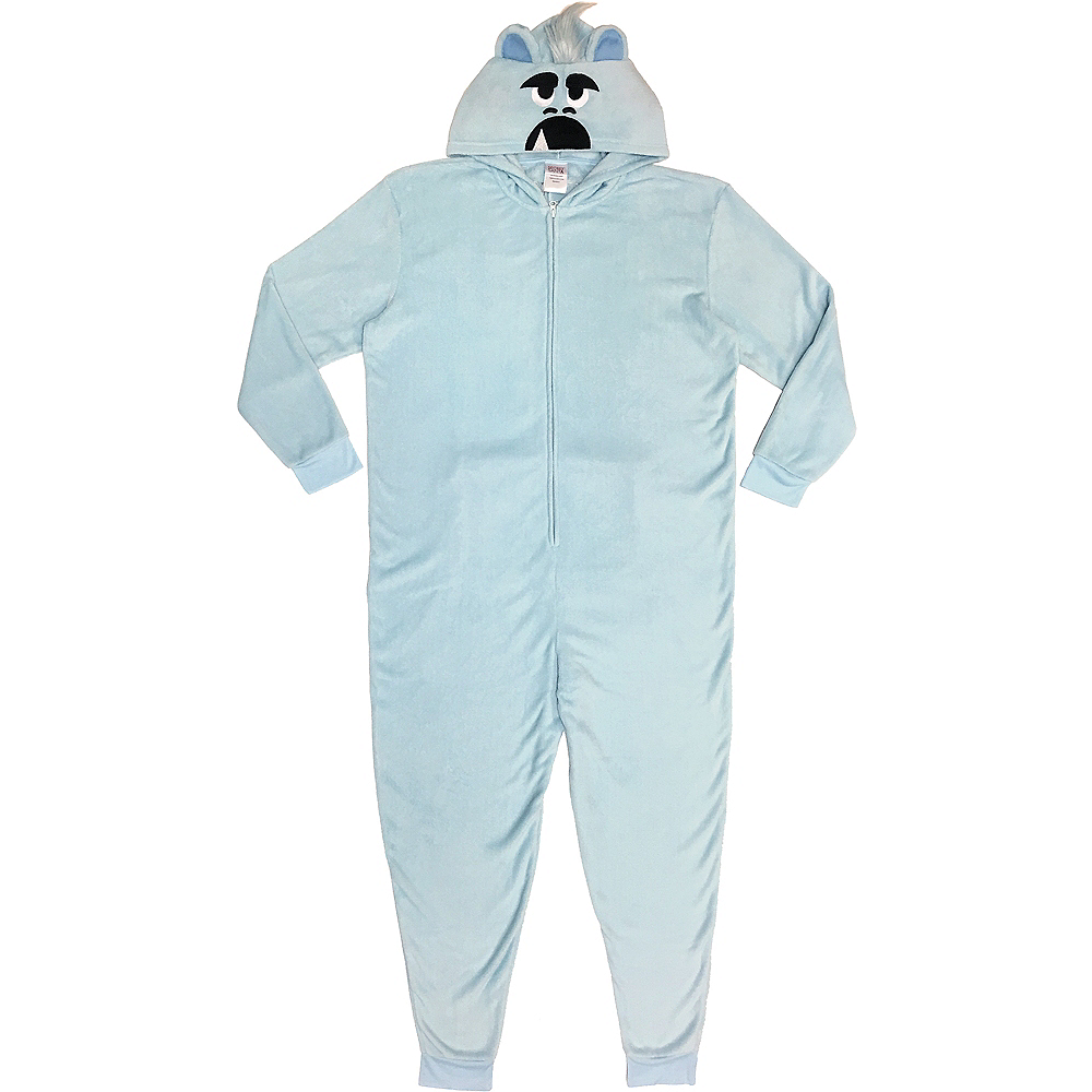 Men's Zipster Yeti for Bed One Piece Pajamas Image #1
