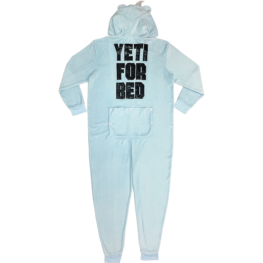 Men's Zipster Yeti for Bed One Piece Pajamas Image #2