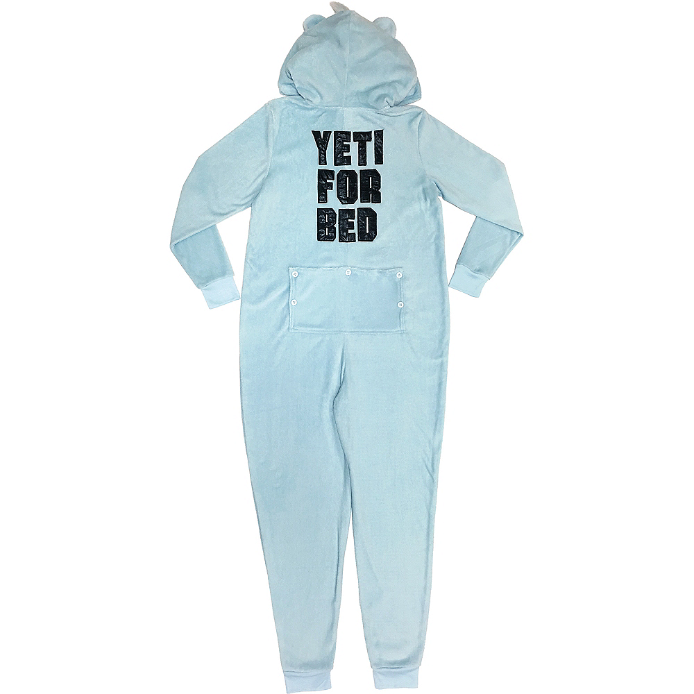 Women's Zipster Yeti for Bed One Piece Pajamas Image #2