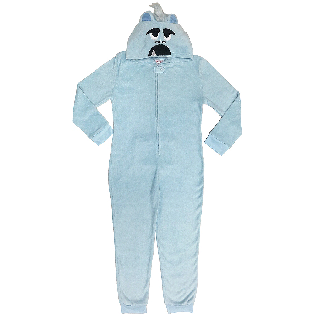 Child Zipster Yeti for Bed One Piece Pajamas Image #1