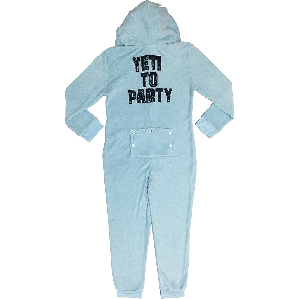 Child Zipster Yeti for Bed One Piece Pajamas Image #2