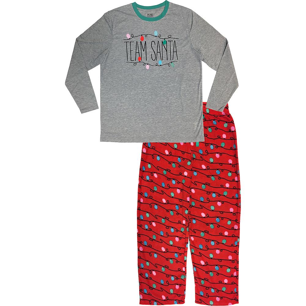 Men's Team Santa Pajamas Image #1