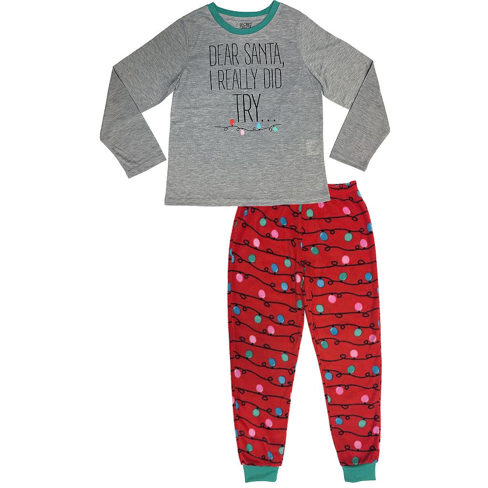 Child Dear Santa Pajamas Image #1