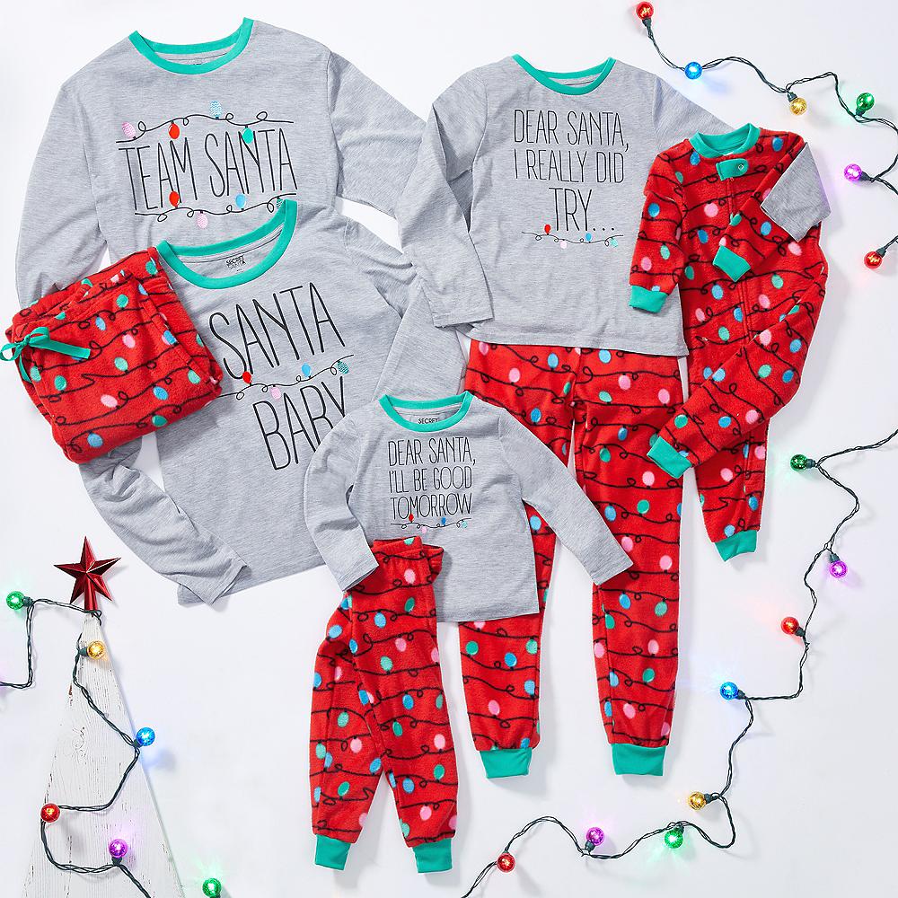 Child Dear Santa Pajamas Image #2