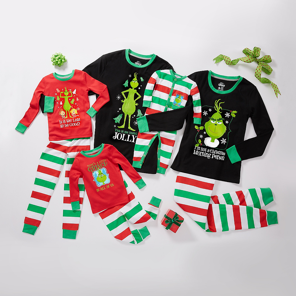 Baby Striped Grinch in Training One Piece Costume Image #3