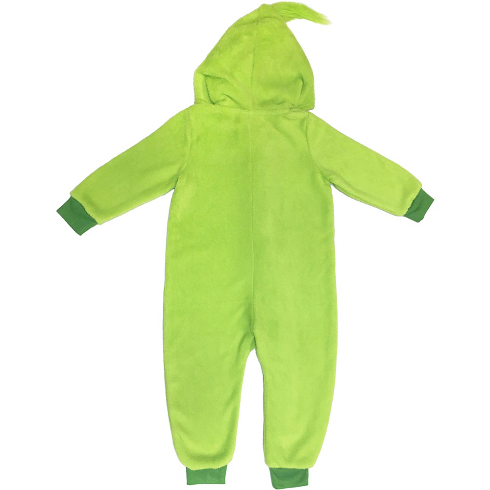 ... Baby Grinch in Training One Piece Pajamas Image #2 ...