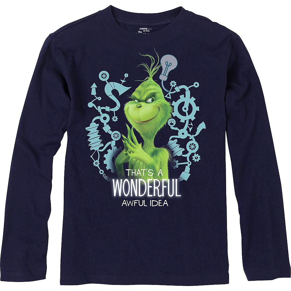 Child Grinch Wonderful Awful Idea Long-Sleeve Shirt Image #1