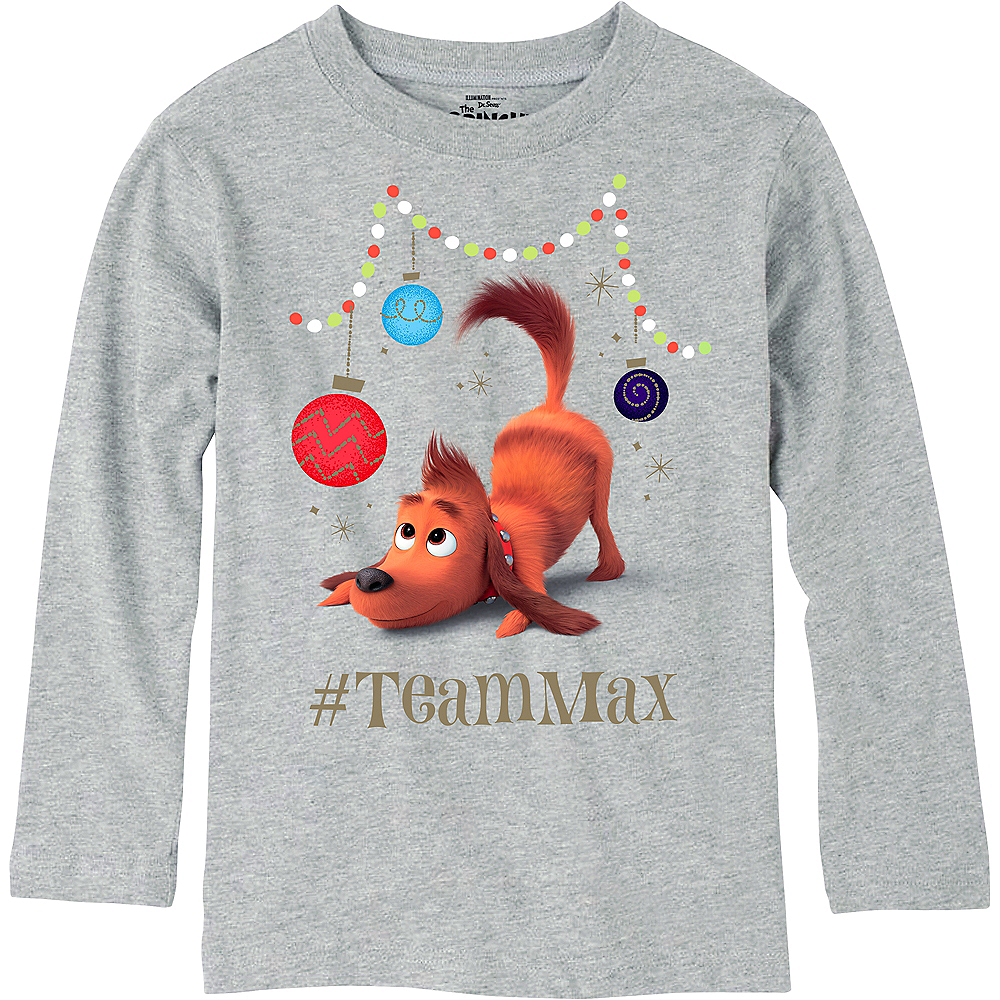 Child Team Max Long-Sleeve Shirt - The Grinch Image #1