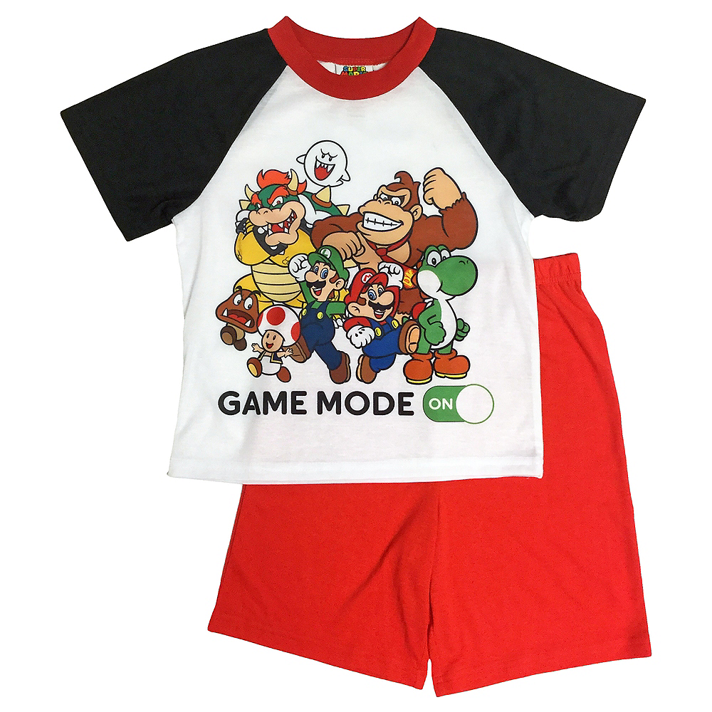 Boys Super Mario Pajama Set Image #1
