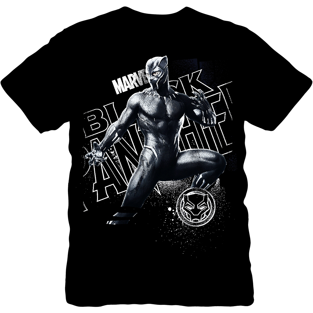 Nav Item for Black Panther T-Shirt Image #1