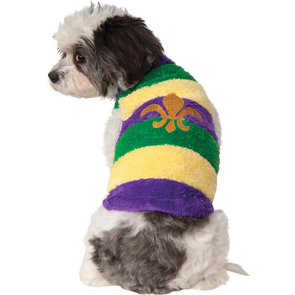 Mardi Gras Dog Sweater Image #1