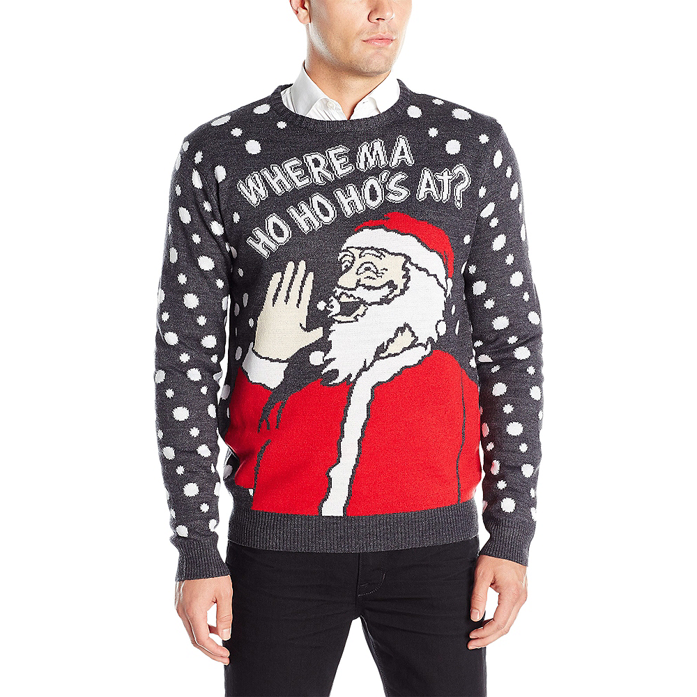 Ho Ho Ho's Ugly Christmas Sweater Image # ...