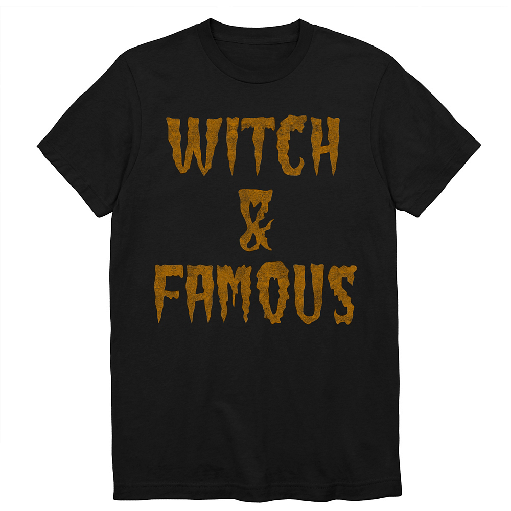 Adult Witch & Famous T-Shirt Image #1