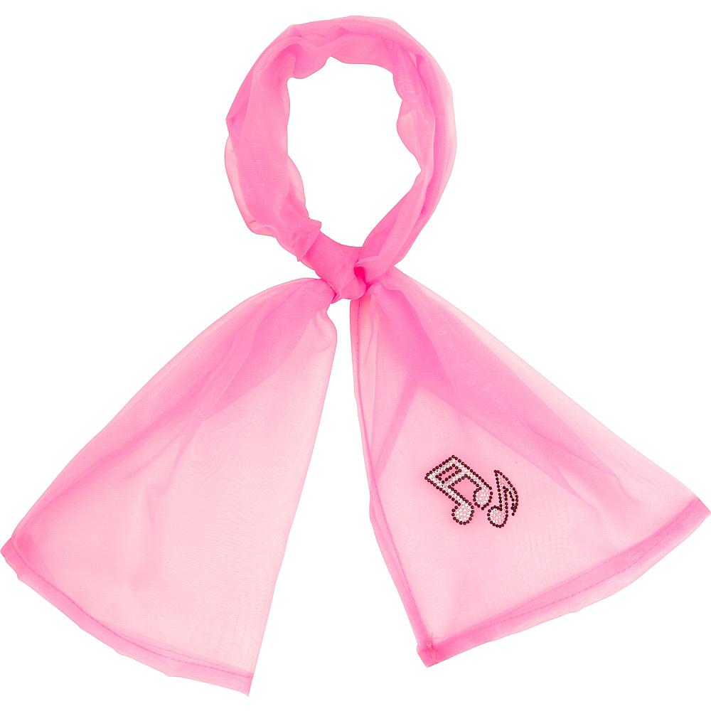 Womens Pink Ladies Costume Accessory Kit Image #3