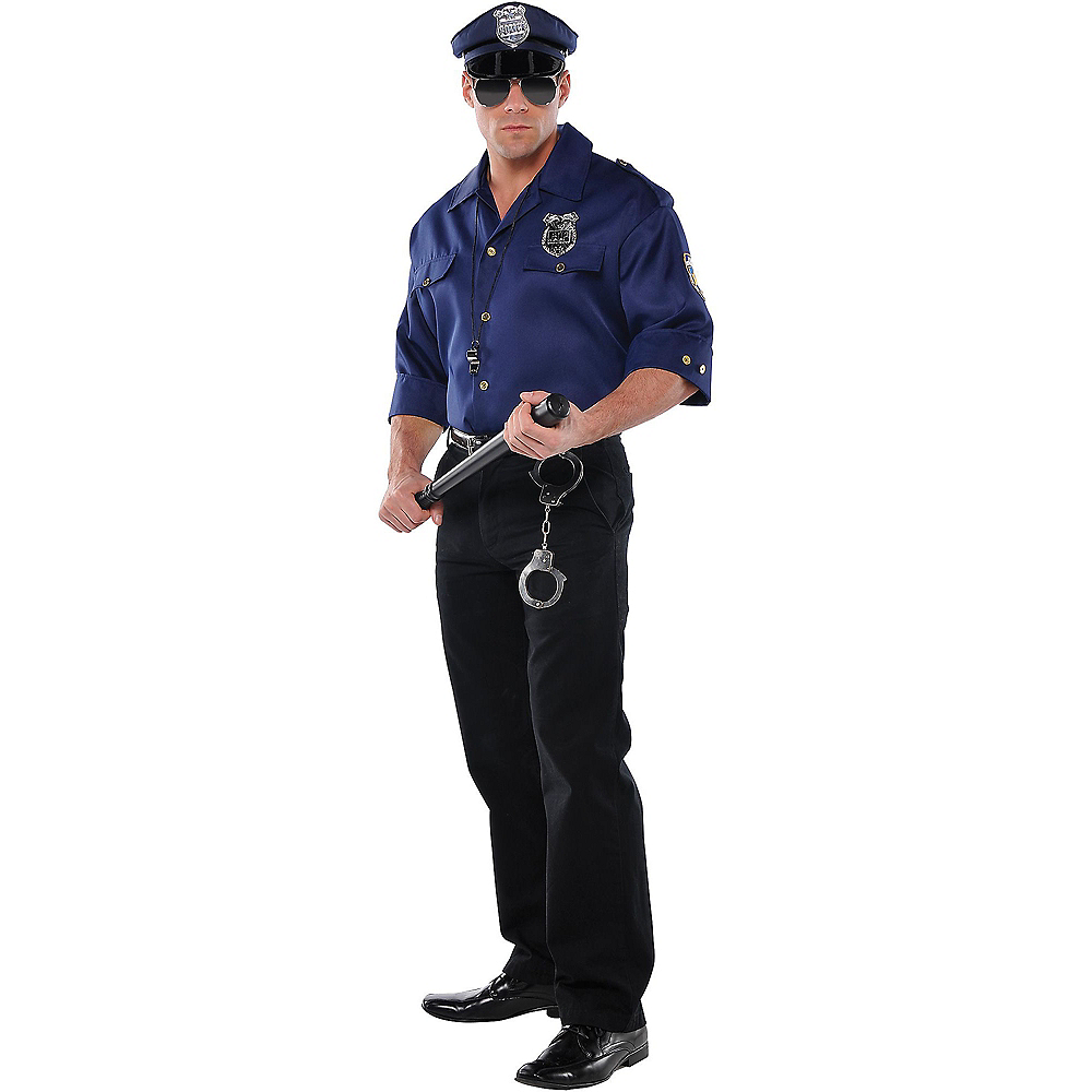 Nav Item for Mens Police Costume Accessory Kit Image #1