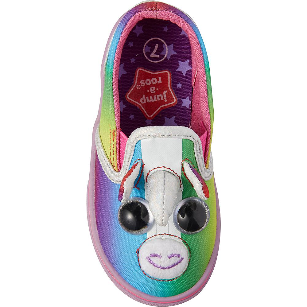 Child Rainbow Unicorn Shoes Image #3