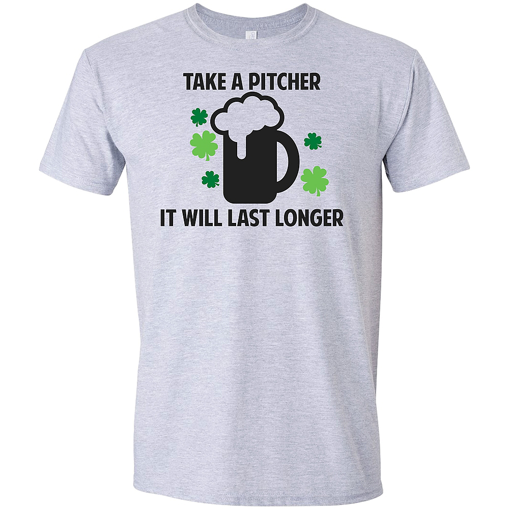 Adult Take a Pitcher St. Patrick's Day T-Shirt Image #1