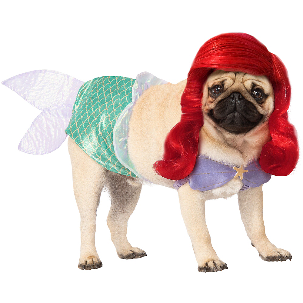Ariel Dog Costume - The Little Mermaid Image #1