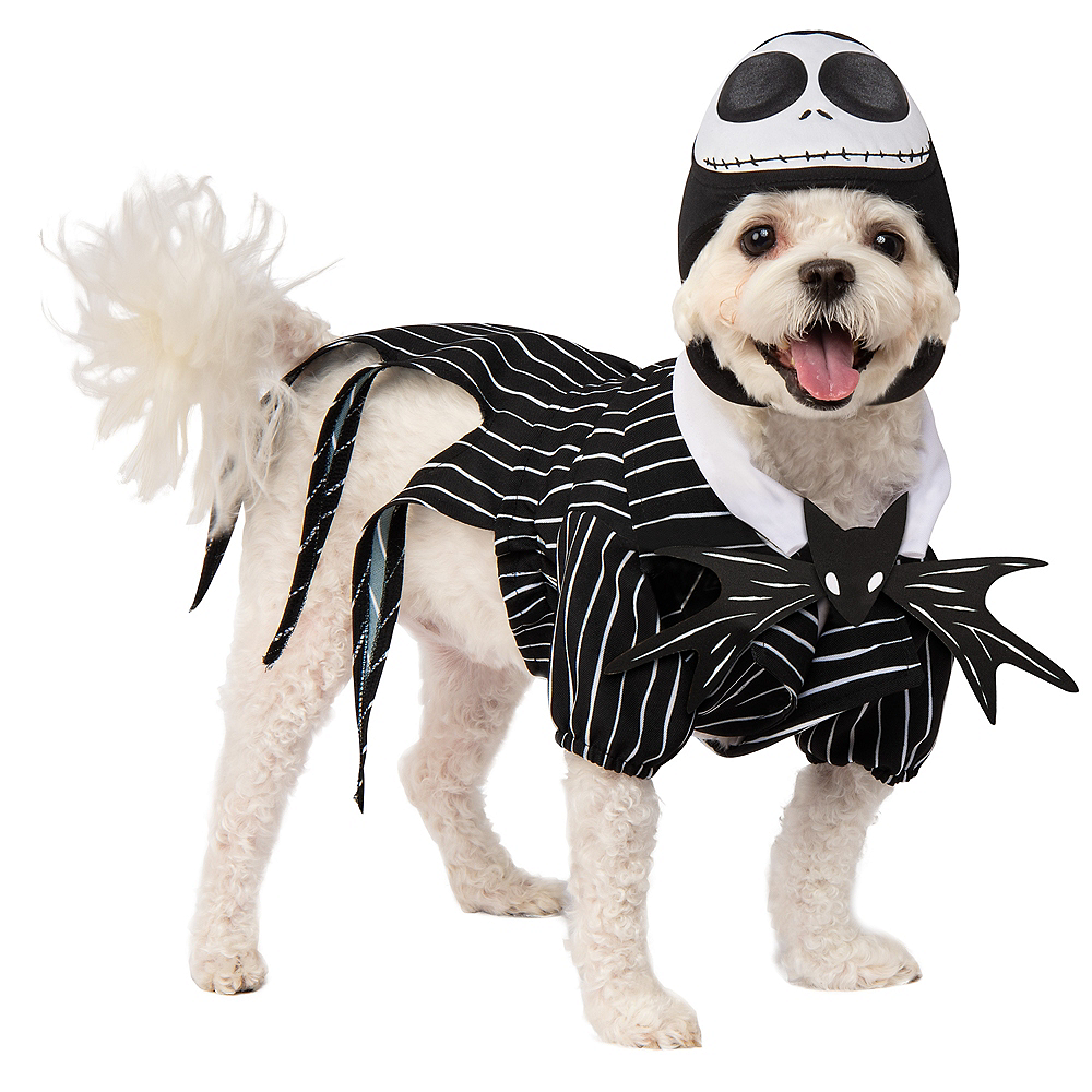 Jack Skellington Dog Costume - The Nightmare Before Christmas Image #1