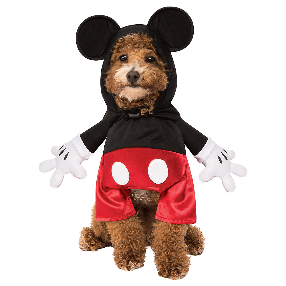 Mickey Mouse Dog Costume Image #1