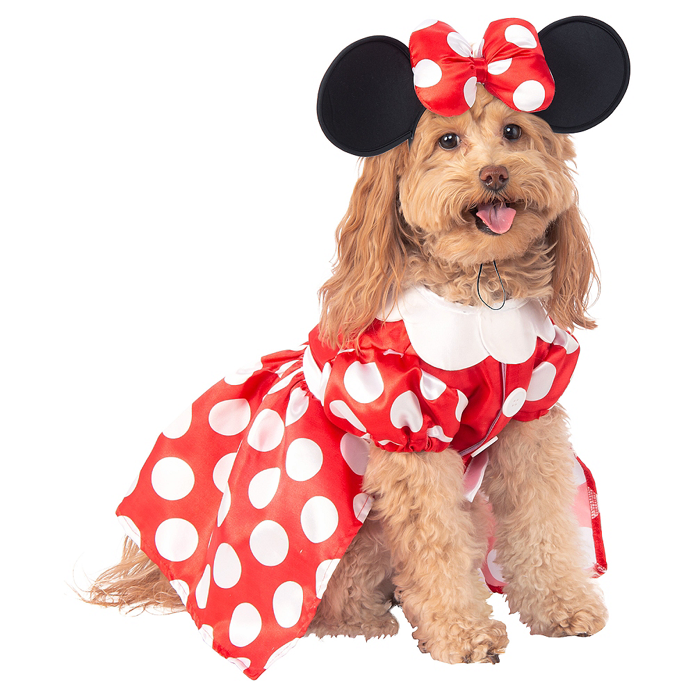 Minnie Mouse Dog Costume Image #1