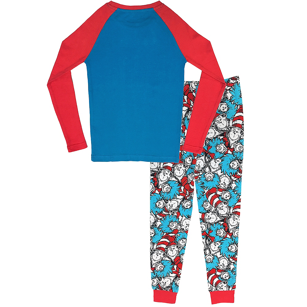 Child Cat in the Hat Pajamas - Dr. Seuss Image #2