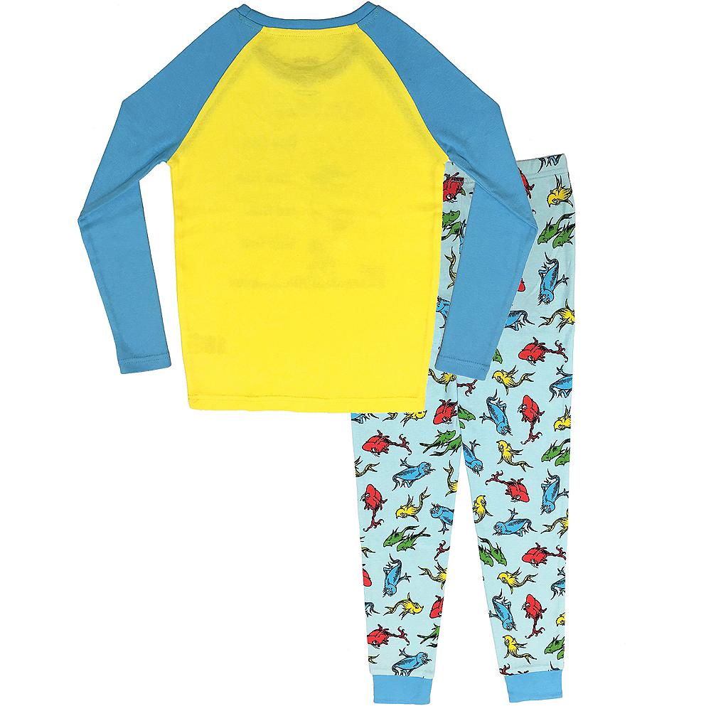 Child One Fish Two Fish Red Fish Blue Fish Pajamas - Dr. Seuss Image #2
