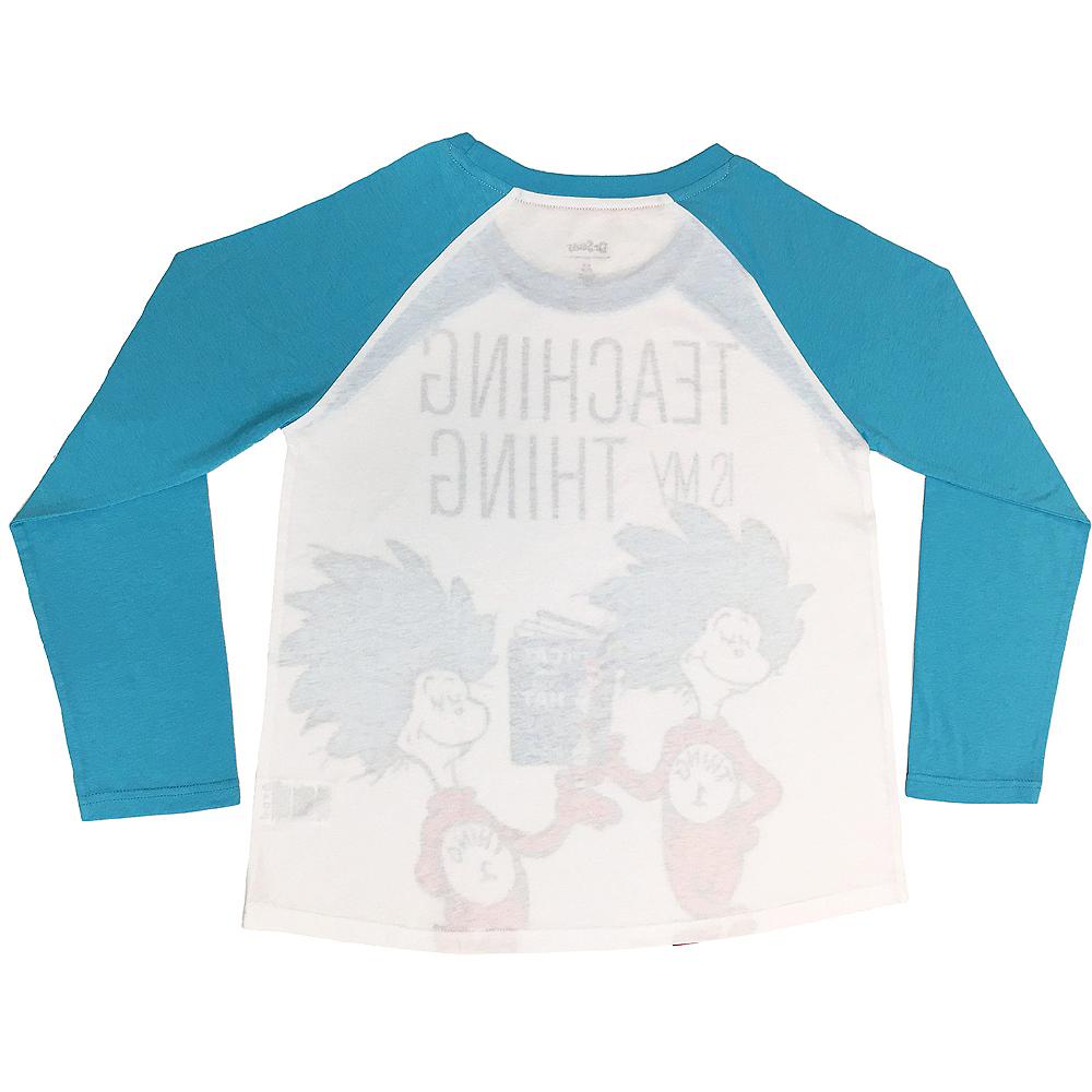Adult Teaching Thing 1 & Thing 2 Long-Sleeve Shirt - Dr. Seuss Image #2