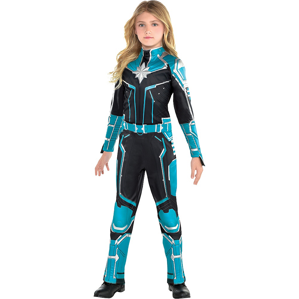 Nav Item for Child Captain Marvel Starforce Costume - Captain Marvel Image #1