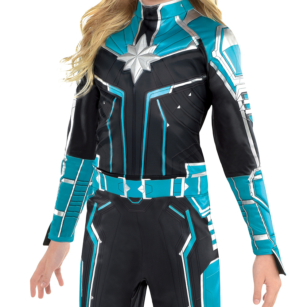 Nav Item for Child Captain Marvel Starforce Costume - Captain Marvel Image #2