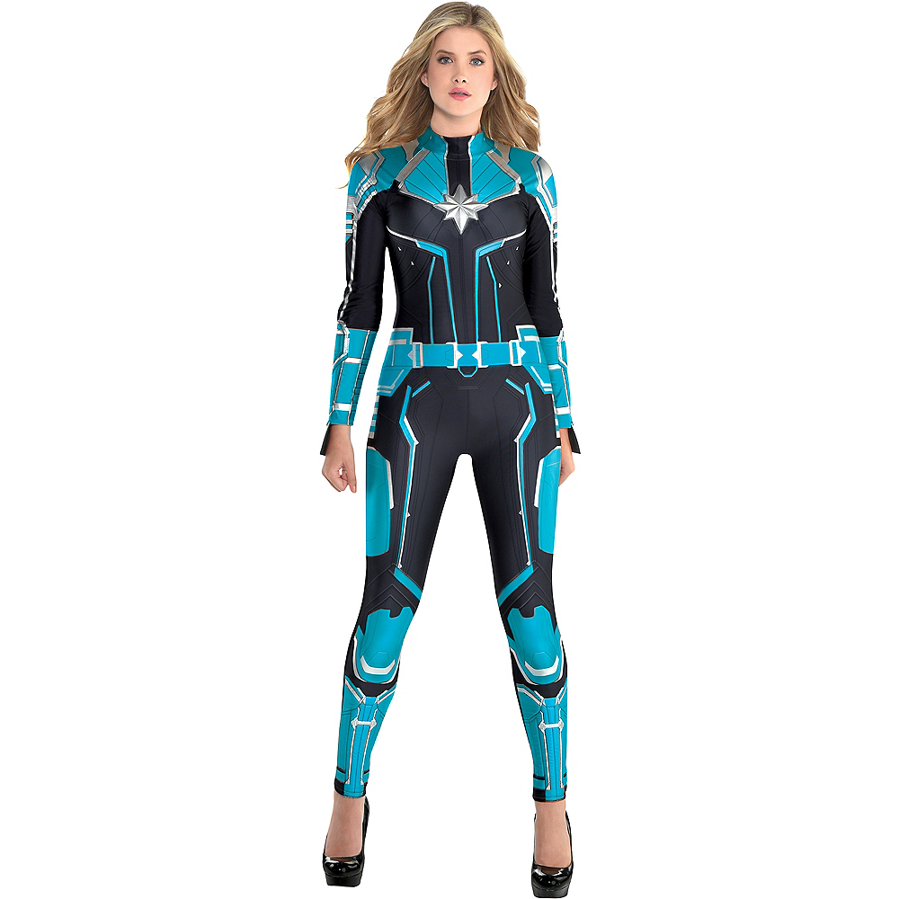 Nav Item for Adult Captain Marvel Starforce Costume - Captain Marvel Image #1