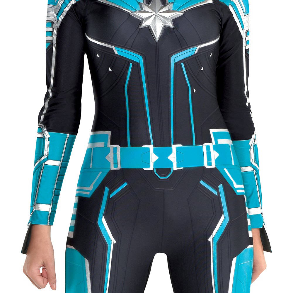 Adult Captain Marvel Starforce Costume - Captain Marvel Image #2