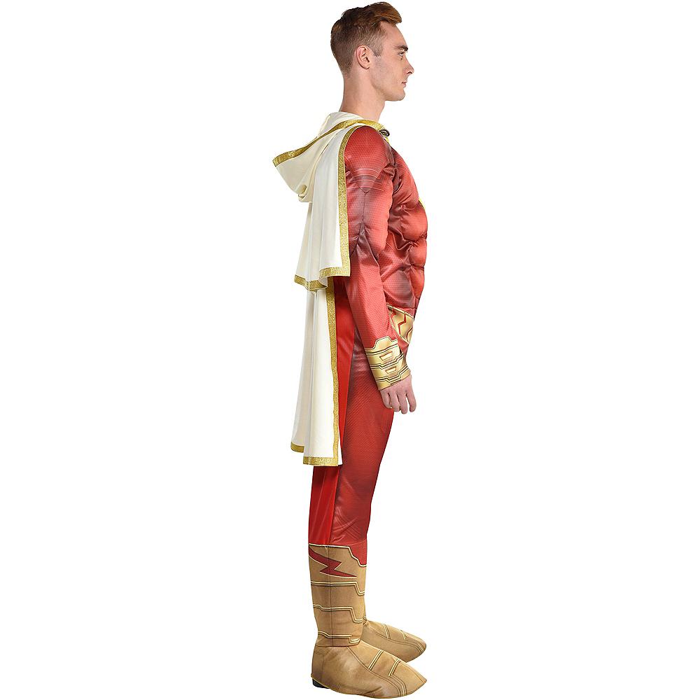 Adult Light-Up Shazam Muscle Costume Image #2
