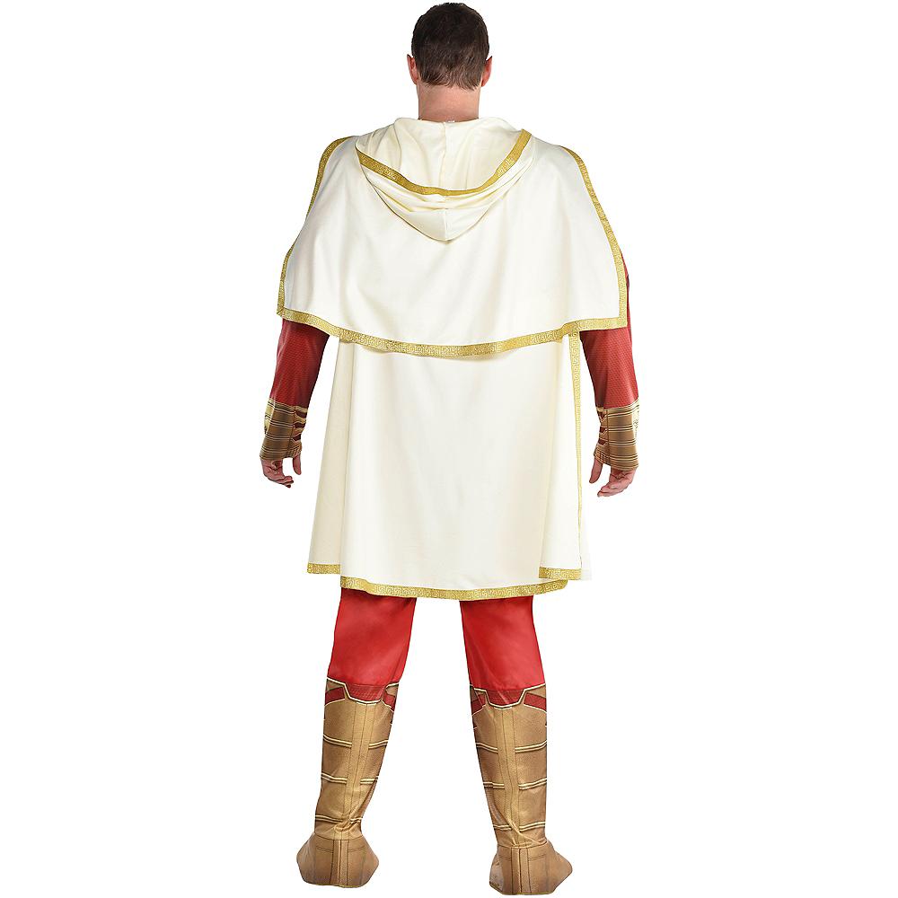 Adult Light-Up Shazam Muscle Costume Plus Size Image #3