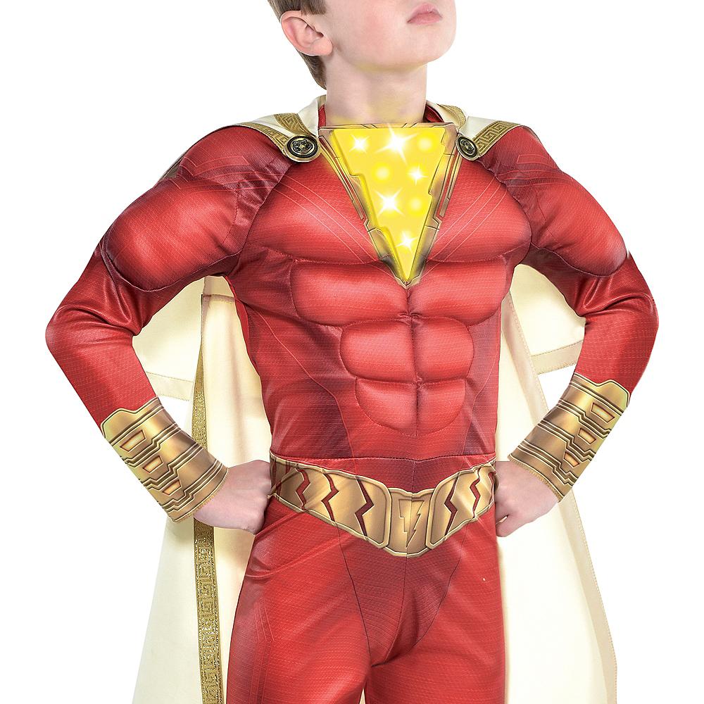 Child Light-Up Shazam Muscle Costume Image #2