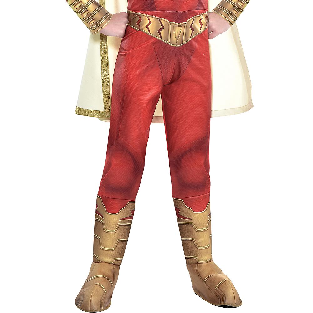 Child Light-Up Shazam Muscle Costume Image #3