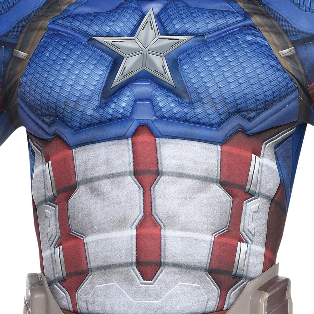 Child Captain America Muscle Costume - Avengers: Endgame Image #2