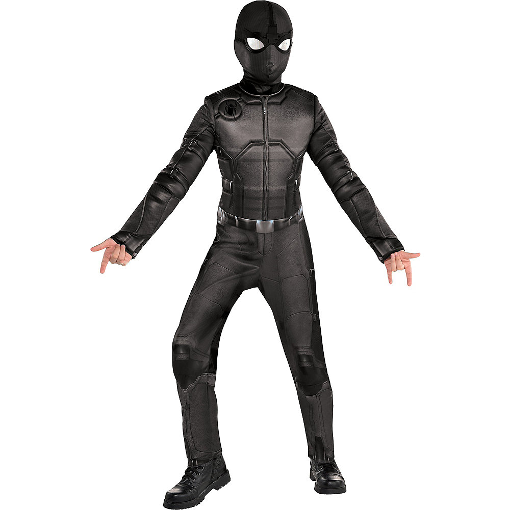 Child Spider-Man Stealth Suit Costume - Spider-Man: Far From Home Image #1