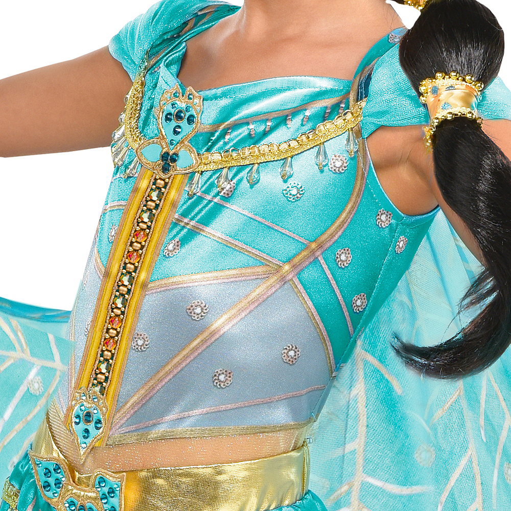 Child Jasmine Whole New World Costume - Aladdin Image #3