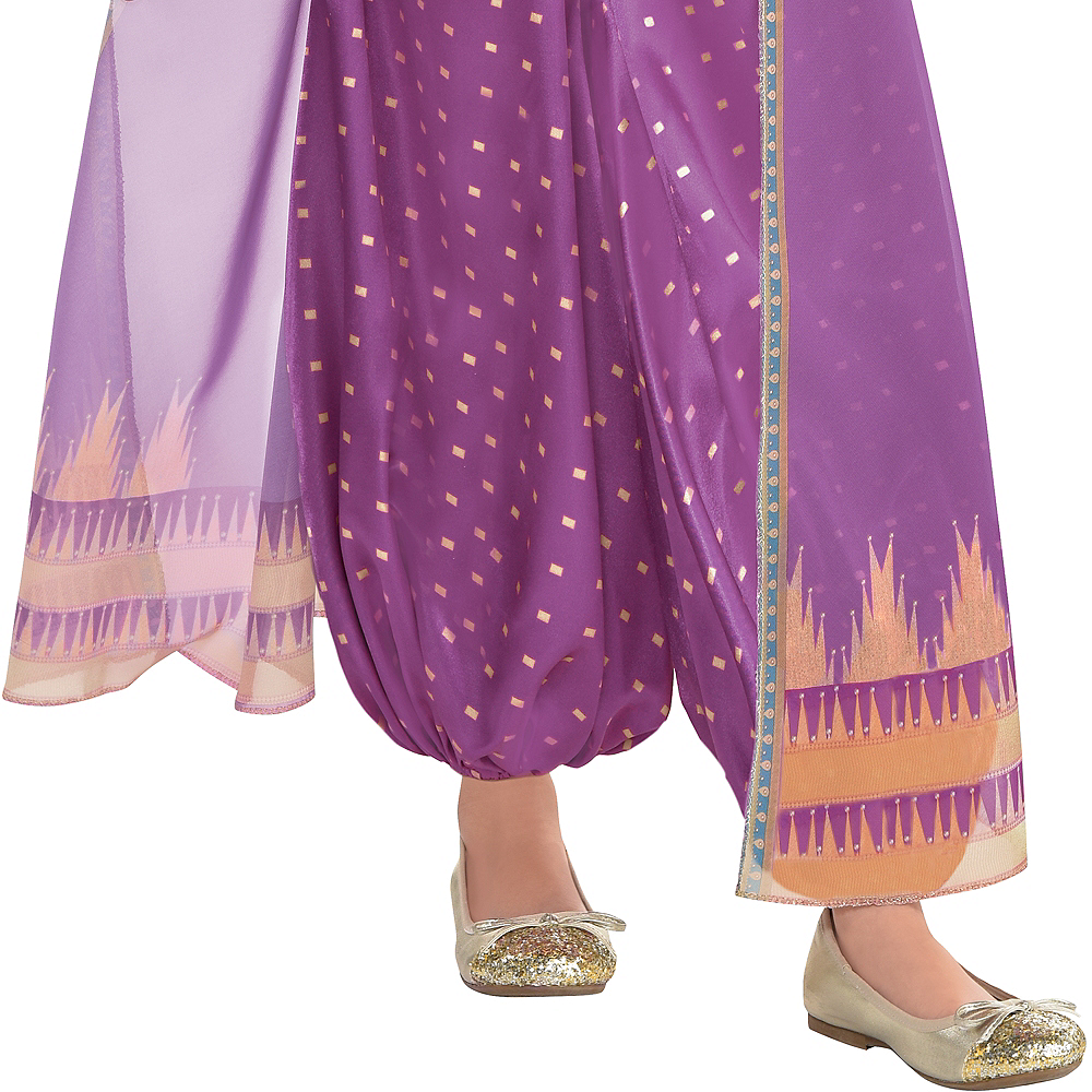 Child Purple Jasmine Costume - Aladdin Live-Action Image #4