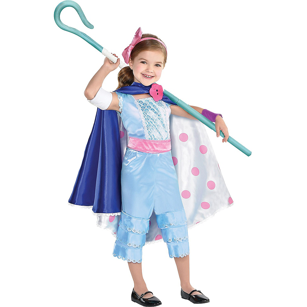 Nav Item for Child Bo Peep Costume - Toy Story 4 Image #1