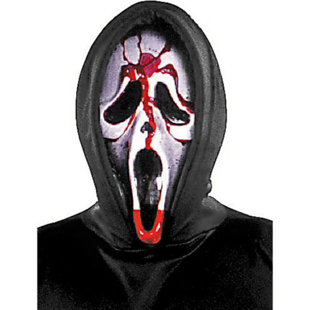 Adult Bleeding Ghost Face Costume - Scream Image #2