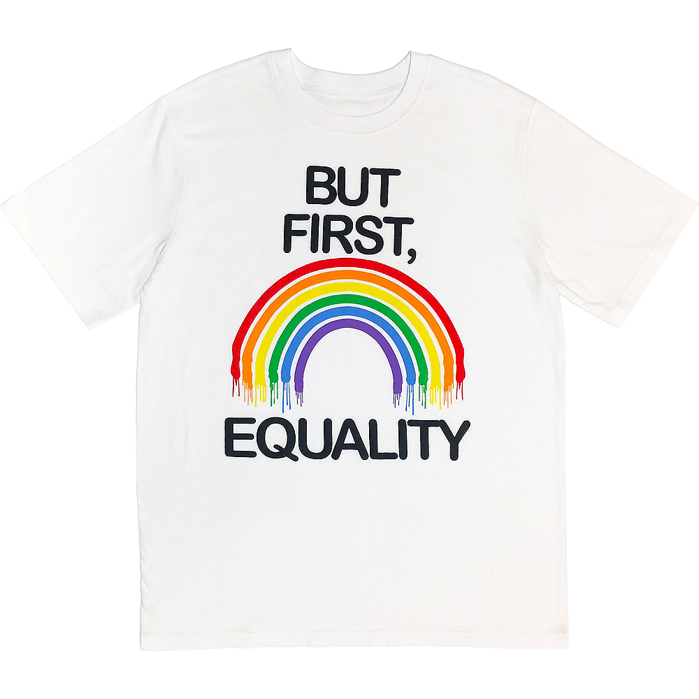 Adult Equality Rainbow T-Shirt Image #1