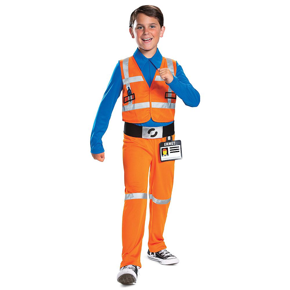 Child Classic Emmet Jumpsuit Costume - The LEGO Movie 2: The Second Part Image #1