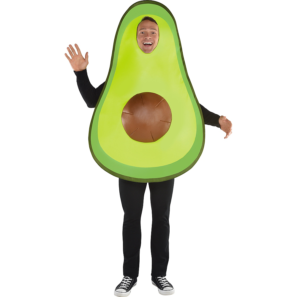 Adult Avocado Costume with Removable Pit Image #2