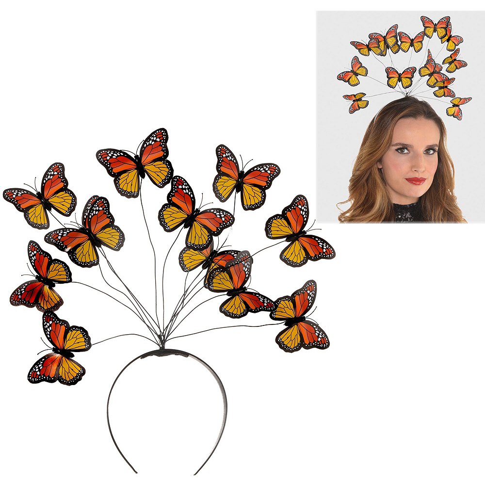 Womens Butterfly Costume Accessory Kit Image #2