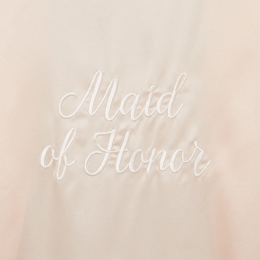 Blush Maid of Honor Robe Image #2