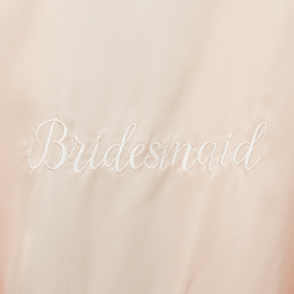 Blush Bridesmaid Robe Image #2
